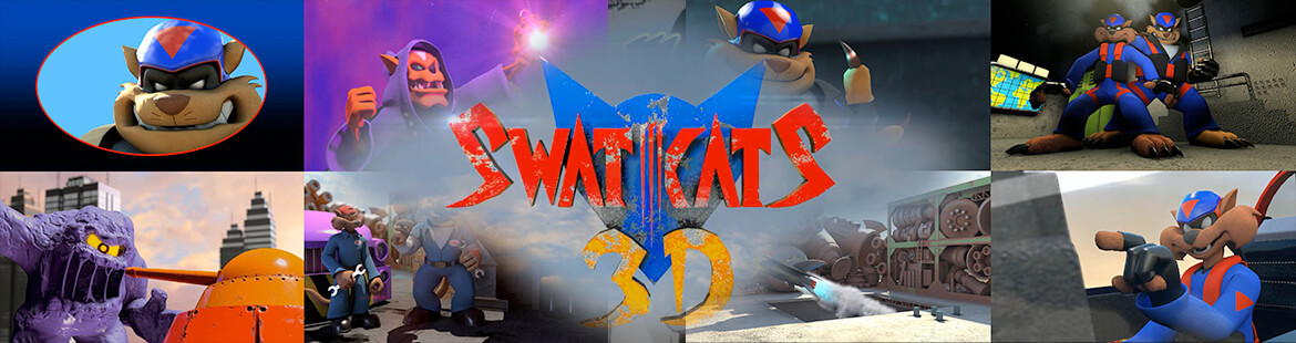 SWAT Kats 3D Intro