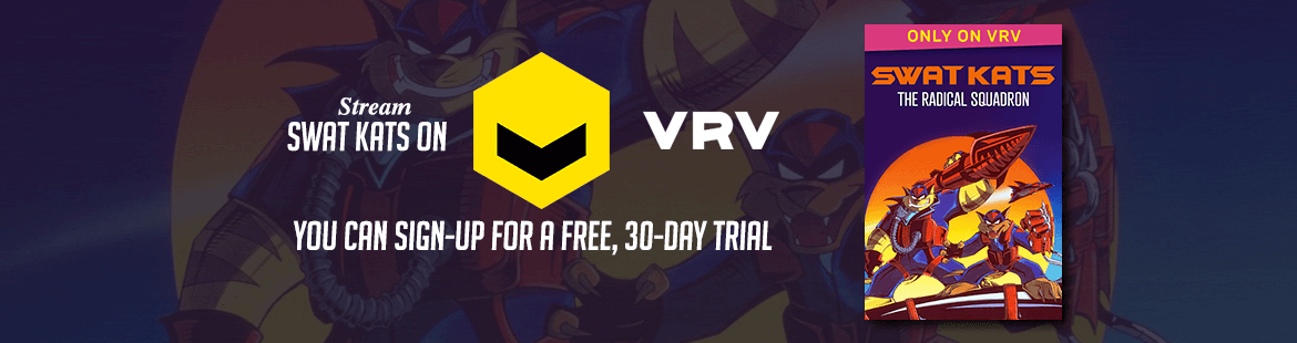 Stream SWAT Kats on VRV