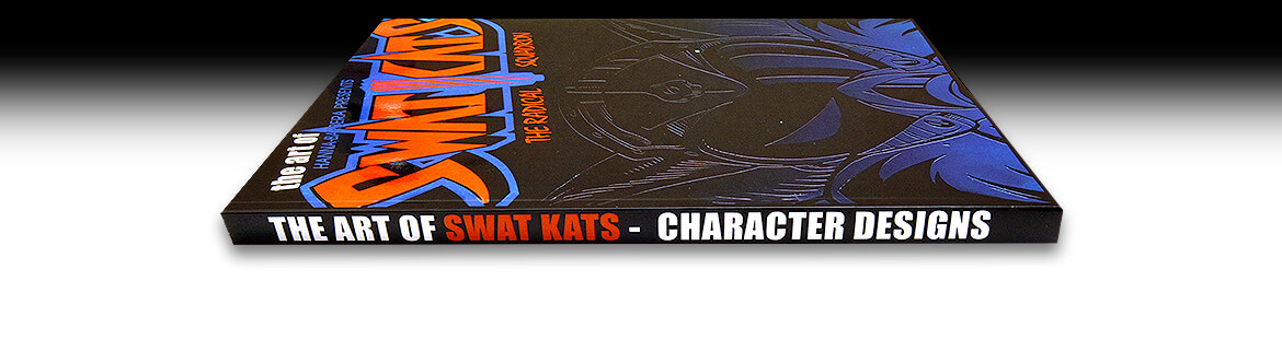 The Art of SWAT Kats: Character Designs